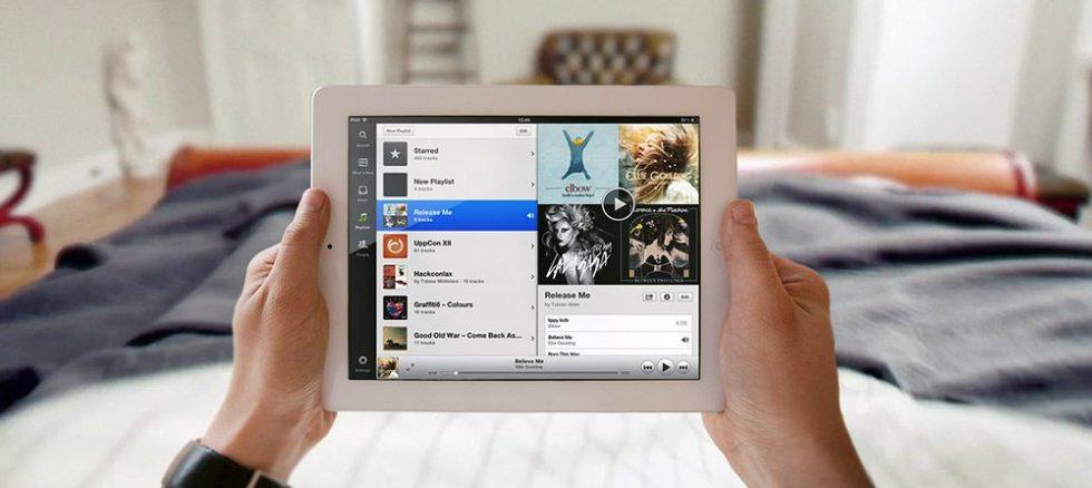ecouter musique tablette